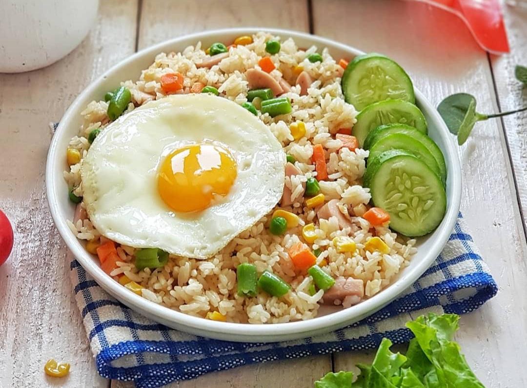 Nasi Goreng Sehat Sederhana