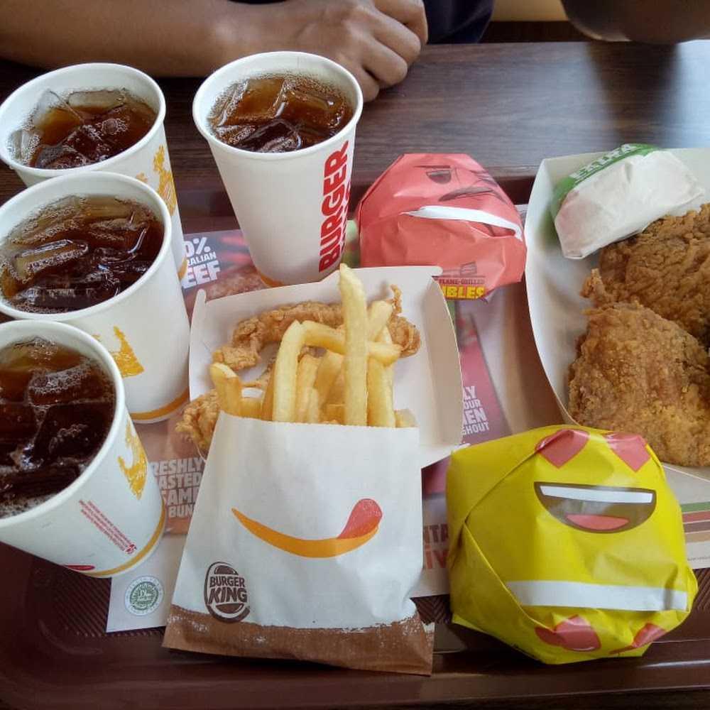Kuliner Burger King West Gatsu