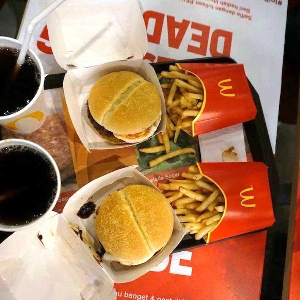 Kuliner McDonald's Mall Cijantung
