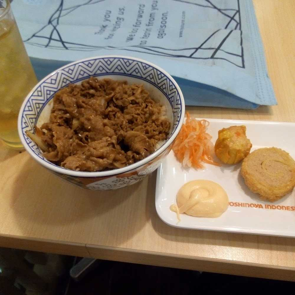 Kuliner Yoshinoya Mal Ciputra