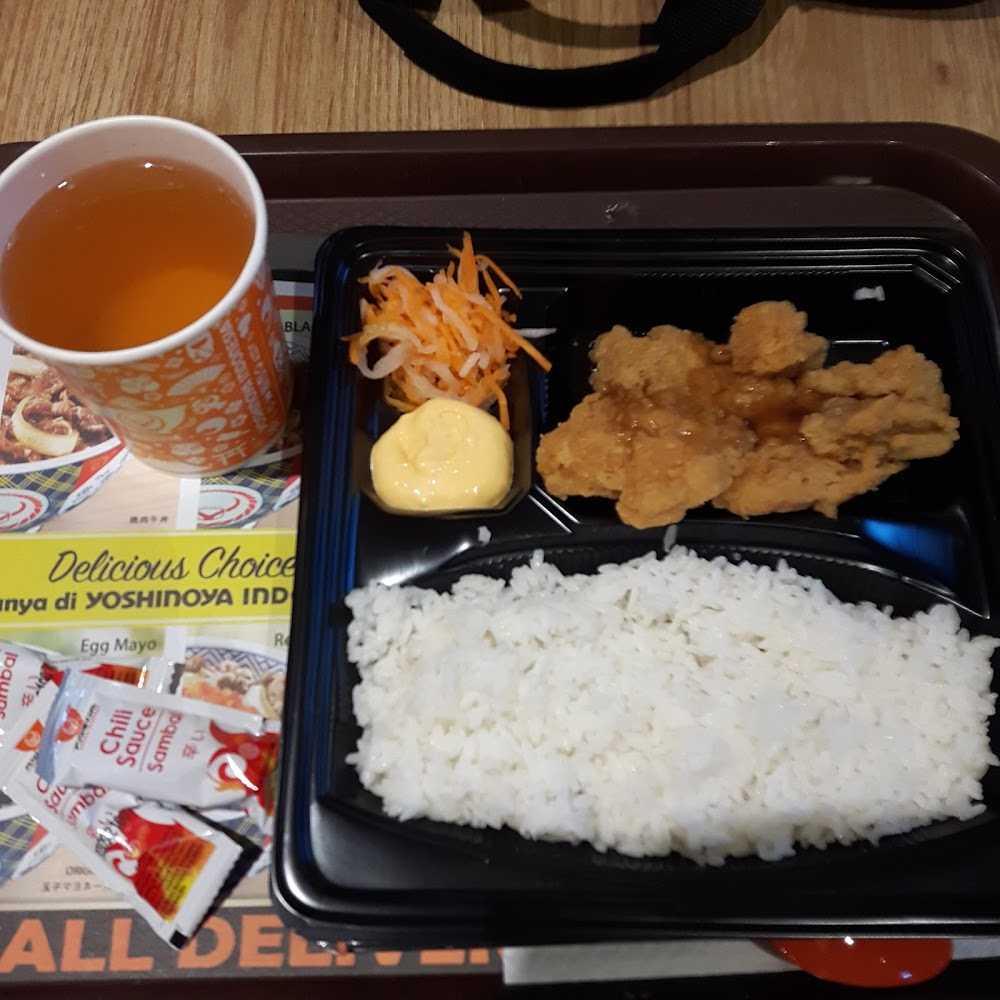 Kuliner Yoshinoya emporium Pluit mall