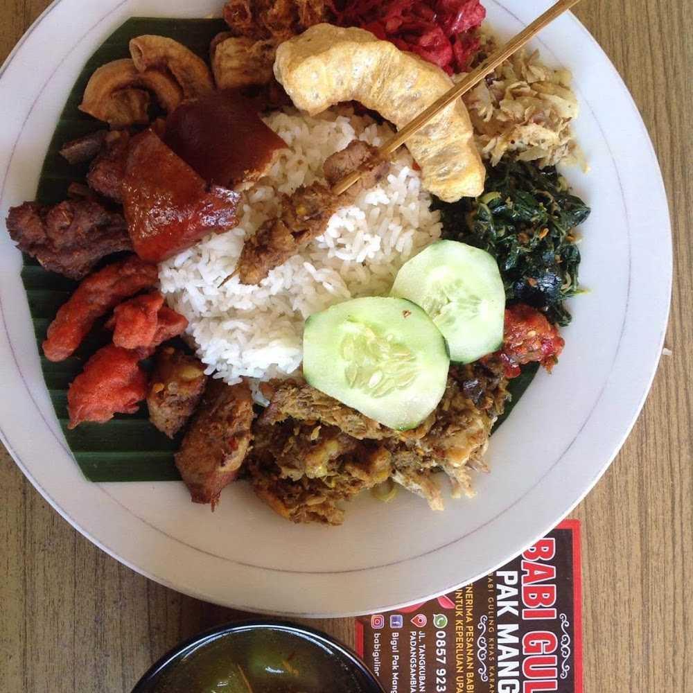 Kuliner Babi Guling Pak Mangku