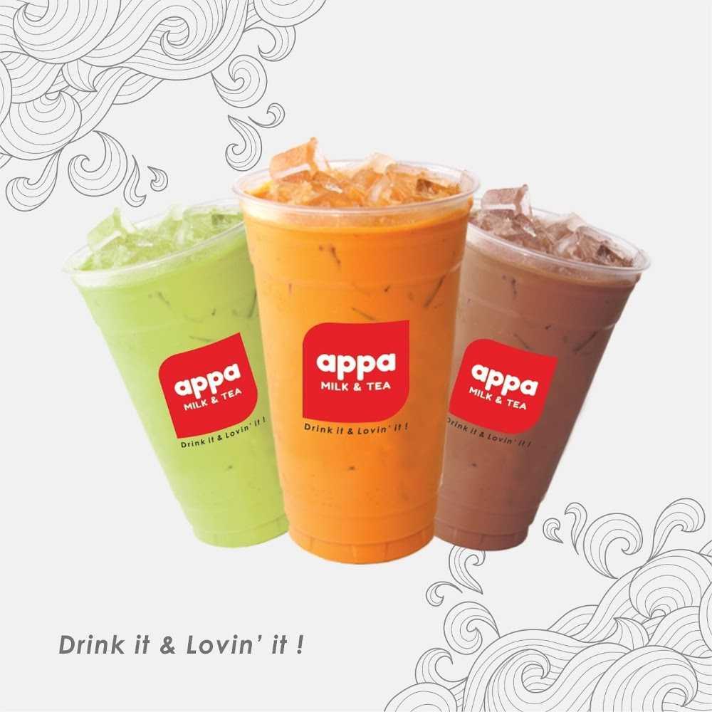 Kuliner Appa Milk & Tea