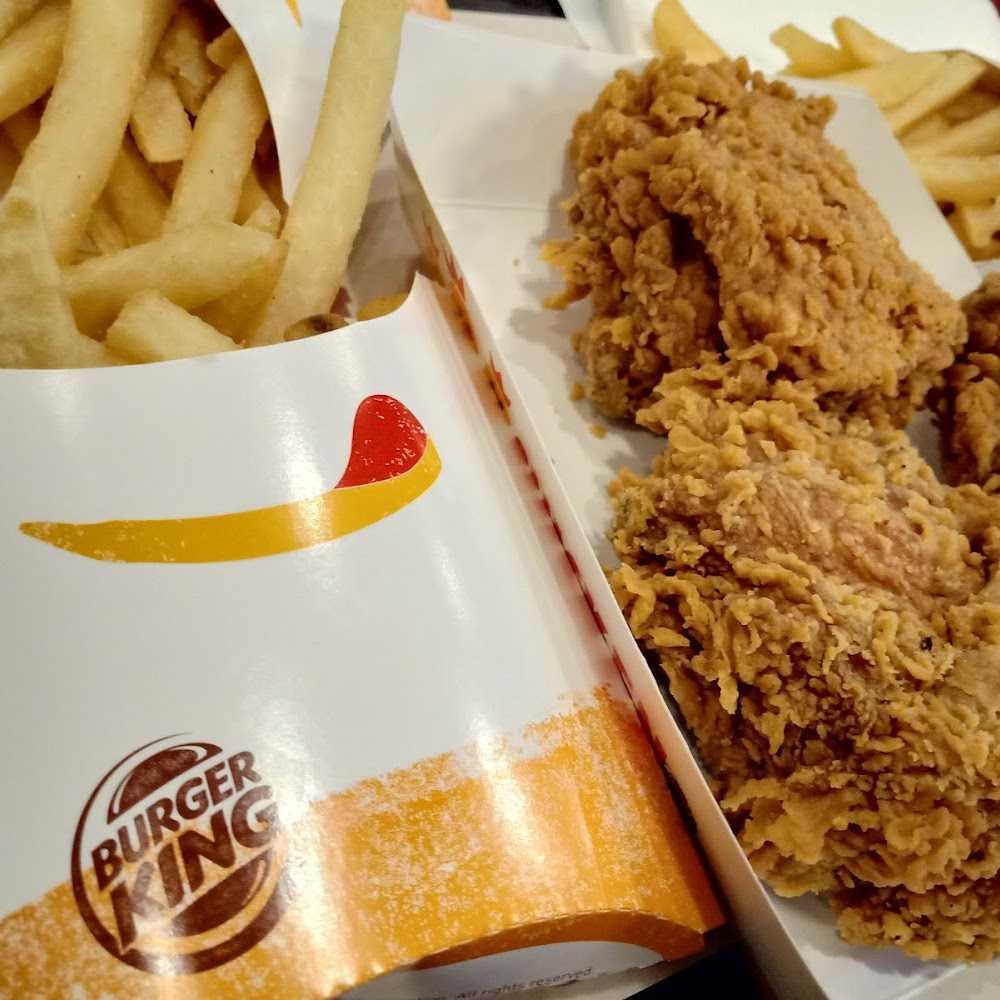Kuliner Burger King Plaza Surabaya