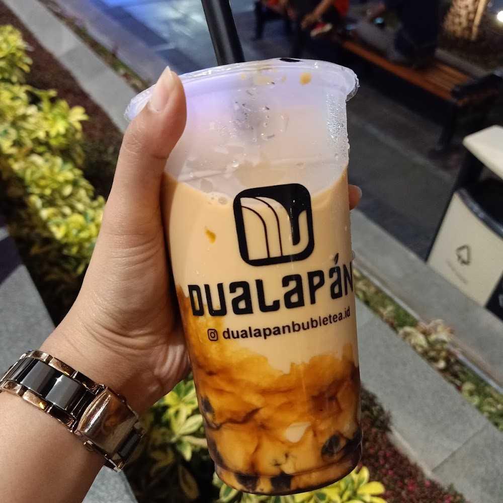 Kuliner Dualapan Bubble Tea