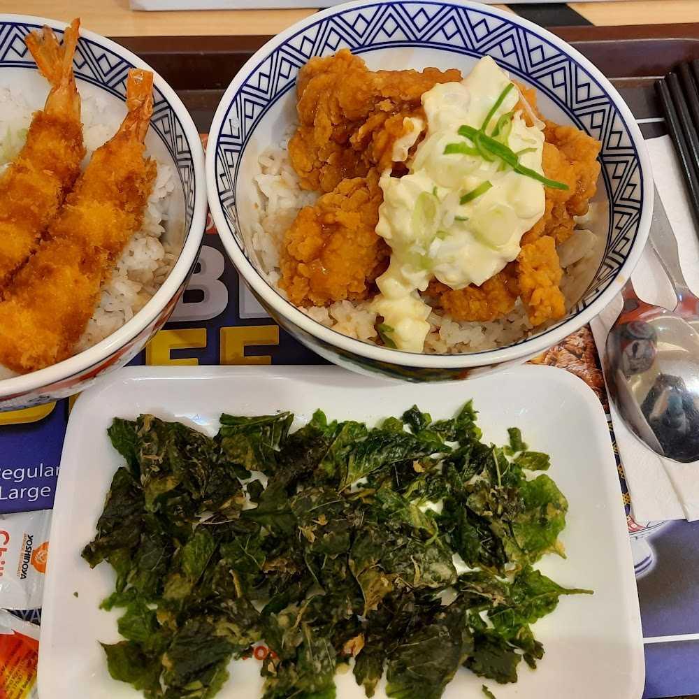 Kuliner Yoshinoya Transmart Rungkut